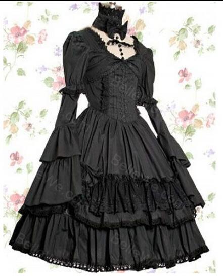 high-end custom made victorian dress gothic lolita vestido Palace princess dress lolita cosplay 0136<br><br>Aliexpress
