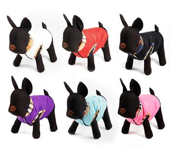 Dog Clothes Pet Apparel Large Dog Clothing   Suit  Winter Warm Coat Size  XS/M/XL 5 Colors
