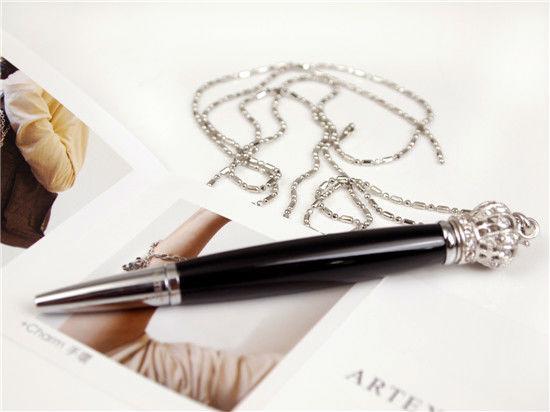 High Quality Stylish Ball Pen : ARTEX Crystal Pen Accessory Series-BLACK( To Make writing More Fashionable) Big Discount(China (Mainland))