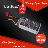 Free Shipping HRB Wholesale Price 11.1V 1300mah 25C Max 45C Toys & Hobbies For Helicopters RC Models Li-polymer Battery
