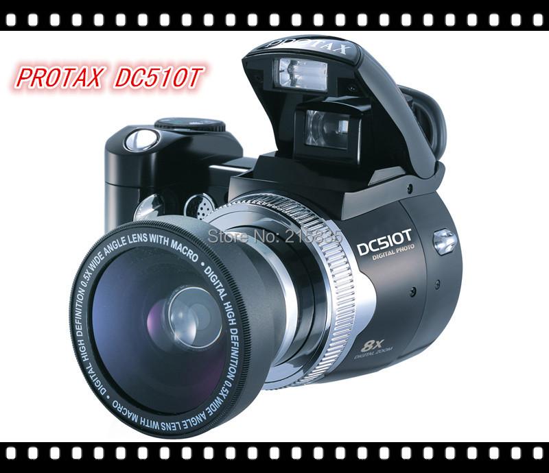 Hot   Pixel DC510T Photo Camera  500million Pixels Digital  Camera  Telescopic  Camera Digital Free shipping(China (Mainland))