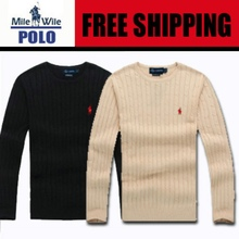 Free shipping 2015 new high quality brand men's winter twist sweater knit cotton sweater jumper pullover sweater men(China (Mainland))