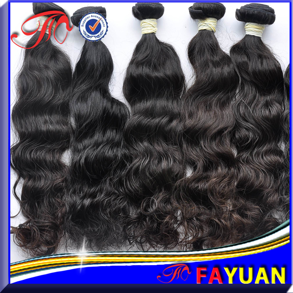 100% Real Virgin human hair indian hair extensions Grade AAAAA-in Hair ...