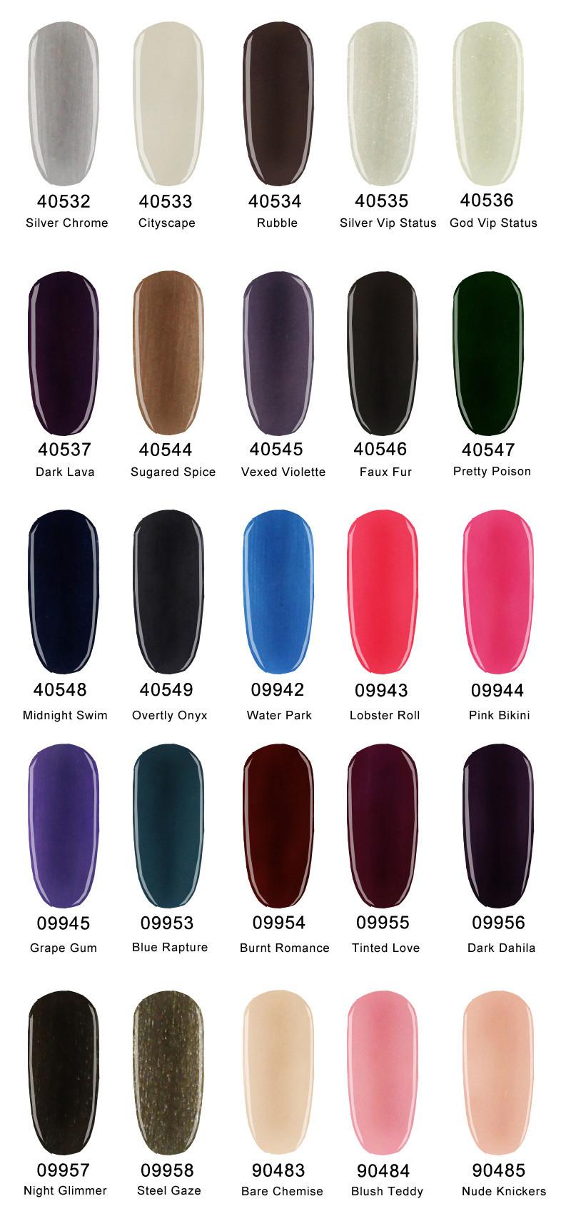 MSK 73 цвета Замочите от Уф-led Гель-Лак длительное Ногтей 10 мл 0.25 жидких унций-3