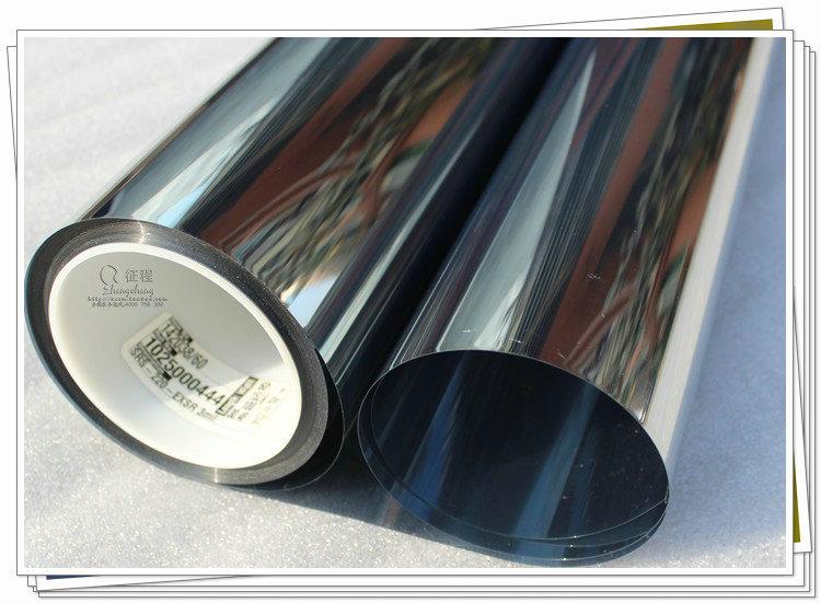 Finestra pellicola pareti di vetro isolante pellicola - Pellicola specchio unidirezionale ...