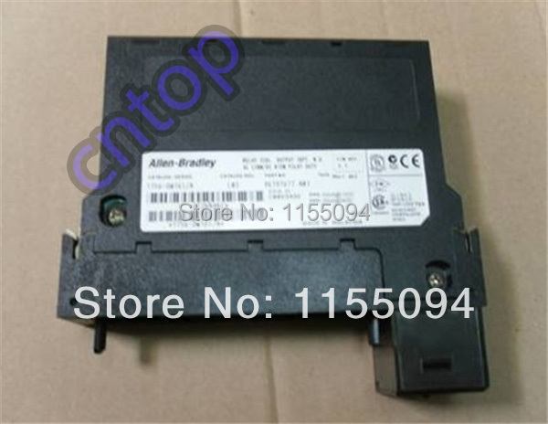 Free shipping New original 1756-OW16I  AB Allen-Bradley PLC 5-150V DC Isolated outputs Contact Output Module<br><br>Aliexpress