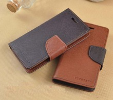 Mercury Fancy Diary Wallet Leather Case Cover For Samsung Galaxy Express i8730 / For Galaxy S DUOS s7562 10pcs/lot