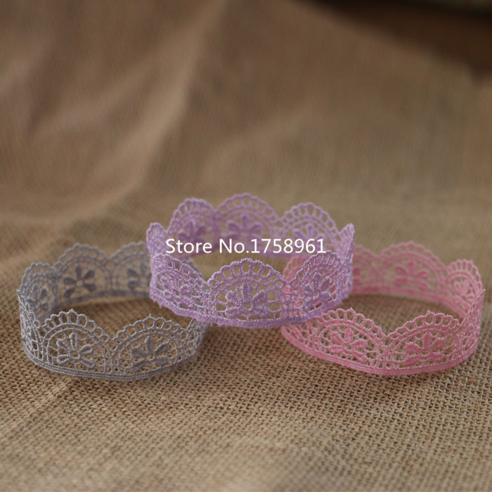 newborn baby photography props baby lace crown newborn hair 0-3 months