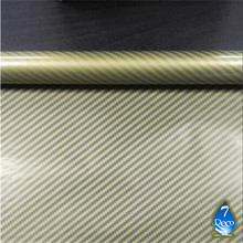 [Width 0.5M] Golden Carbon Fiber  Pattern Water Transfer Printing Film, 0.5M*2M Hydrographic film,  Hydro Dipping Film(China (Mainland))