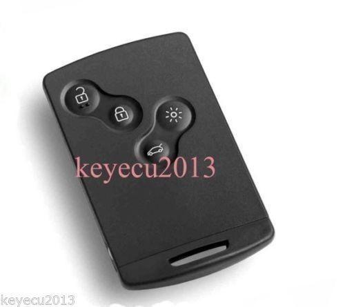 Купить Бесплатная доставка Замена Новый Uncut Дистанционного Ключа Fob 4 Button 433 МГц PCF7952 для Renault Megane 2009-2014