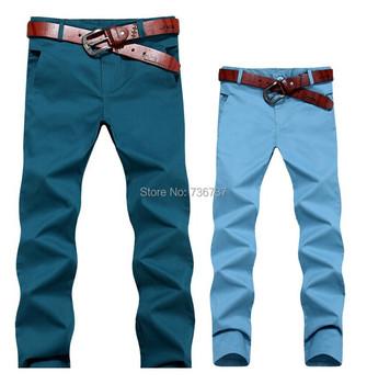 Мужские длинная платье брюки свободного покроя брюки-карандаш хлопок брюки 9 цветов ...