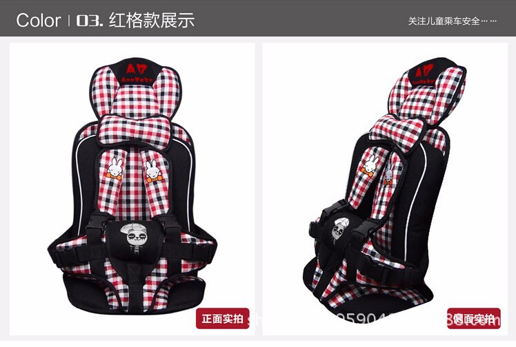 Baby Car Seat, Portable and Comfortable Infant Baby Safety Seat, Safety Car Seat for Baby of 9-36KG and 0 Months-4Years Old