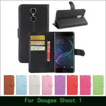 Buy Case Doogee Shoot 1 Luxury Wallet PU Leather Flip Case Cover Doogee Shoot 1 Cell Phone Cases Cover & Card Holder Stand for $3.90 in AliExpress store