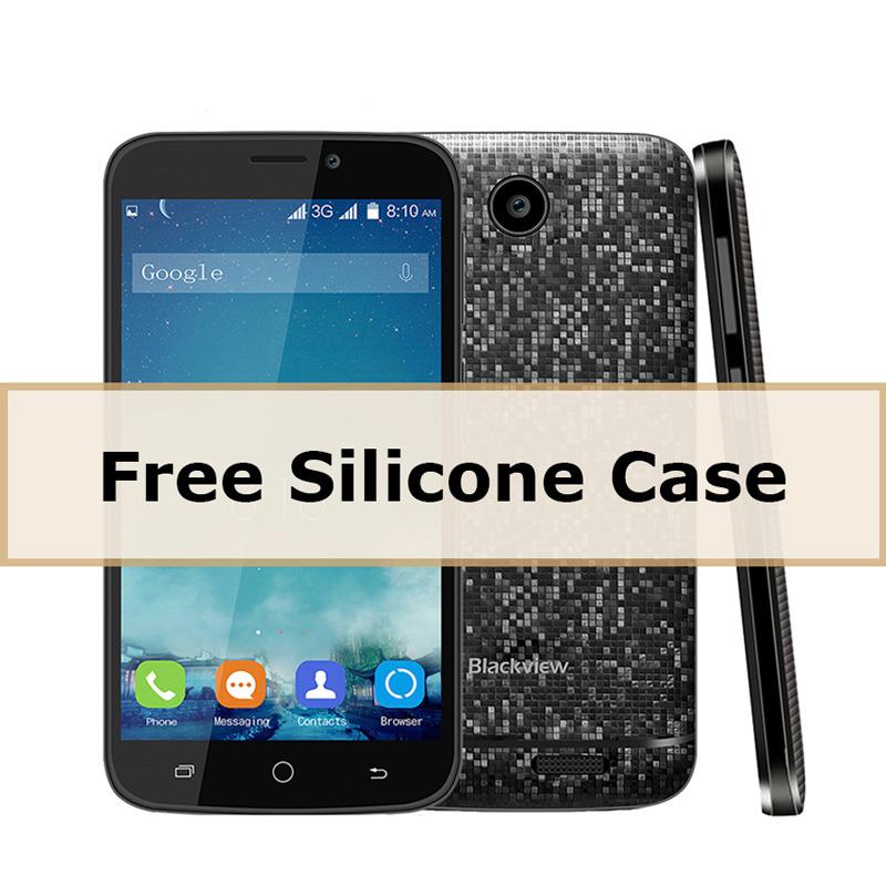 Original Blackview A5 Mobile Phone 3G Smartphone Android 6.0 OS MTK6580 Quad-core 1.3GHz 1GB+8GB 5.0MP Dual SIM Card Cellphone(China (Mainland))