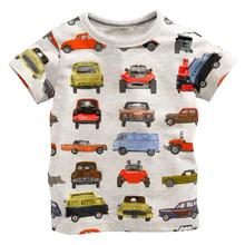 Детские Дети Grils мальчиков футболка Детская Одежда Маленький мальчик Летние рубашки Тройники Дизайнер Хлопка Мультфильм для 1-6Y(China (Mainland))