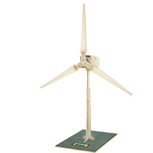 Solar Powered Windmill Toys Wooden Assembled Model 3D Puzzle Assembling New Arrival Solar Windmill Birthday Gift For Children(China (Mainland))