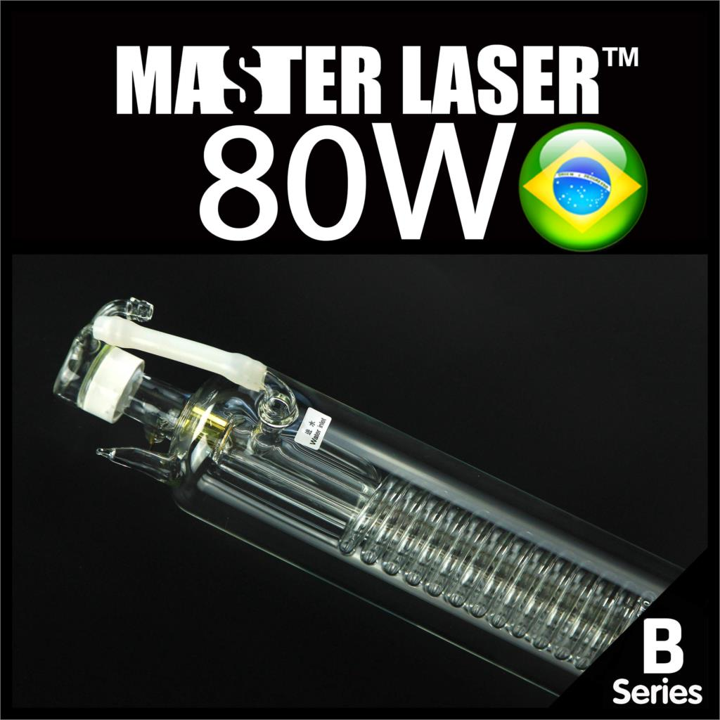 80W High Power 90W CO2 Laser Tube for Laser Engraving Cutting and Marking Machine DHL Wooden Case Shipping to Brazil(China (Mainland))