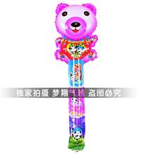 Free shipping happy bear head shaped bangbang cheer stick balloon inflatable figures