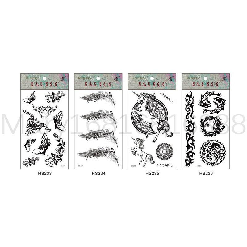 Kinds of Animals Tattoo Stickers Sexy Night Club Party Queen Tattoo Paste Stick Tattoo Stickers(China (Mainland))