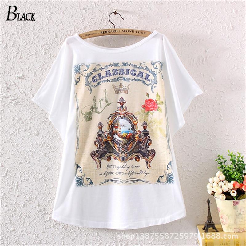 Buy 2015 new cute harajuku rose baroque t for Buy printed t shirts wholesale