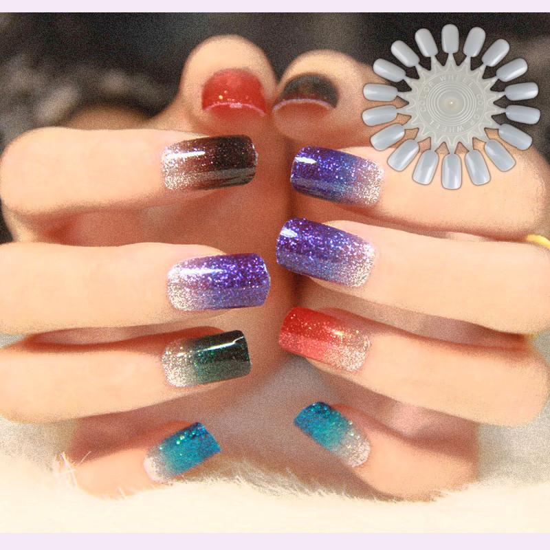 Накладные ногти 5 x #5728