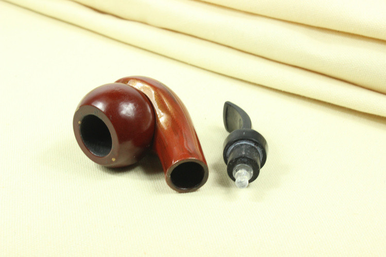 Men s Wooden Pipe Tobacco Smoking Pipe Hot sales Handmade 1set lot Durable Wooden Mens Durable