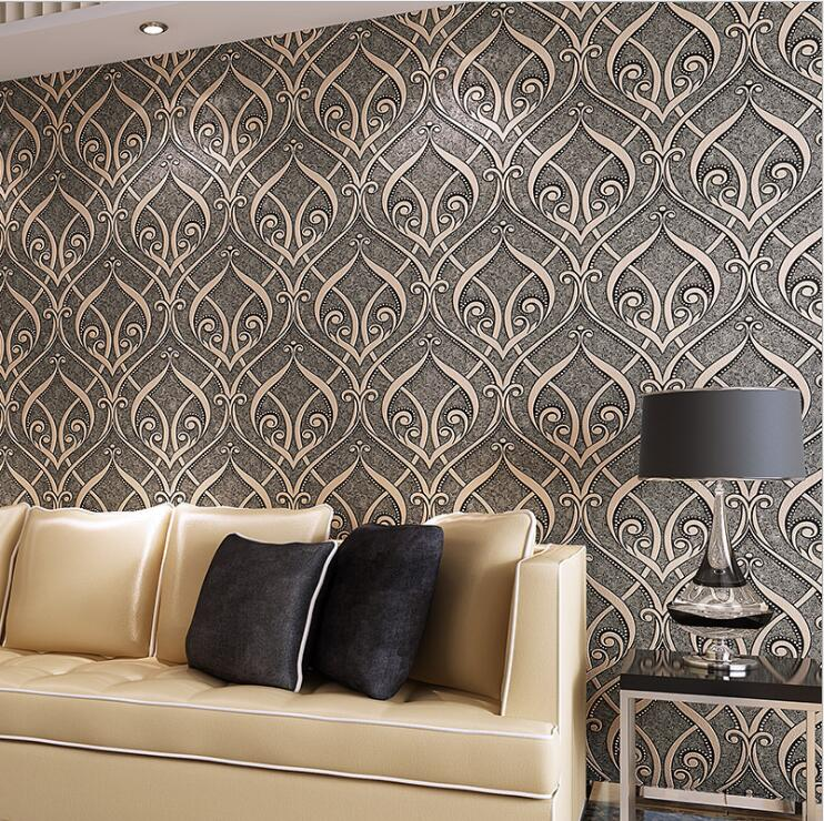 Online Get Wood Texture Wallpapers Aliexpress Com Alibaba Contemporary  Wallpaper Designs For Living Room. Contemporary Wallpaper ... Part 93