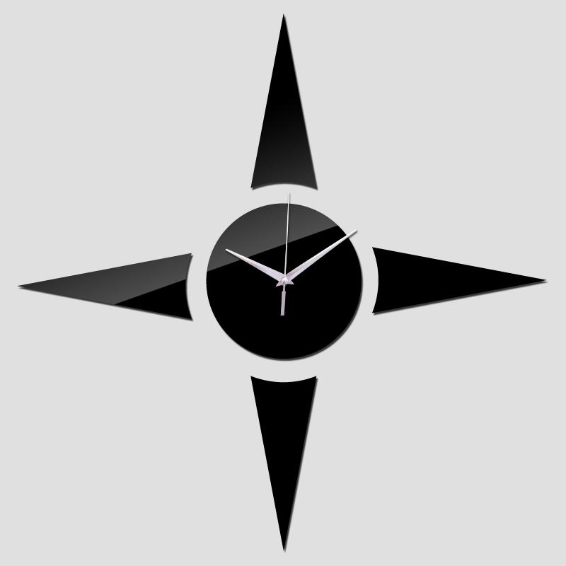 2015 por tempo limitado venda quente amor diy espelho relógio relógios relógio de parede sala de quartzo agulha frete grátis acrílico