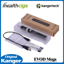 Original Kanger Evod Mega Kit 2.5ml 1900mah Battery with Micro USB Cable Evod Mega Electronic Cigarette Starter Kits