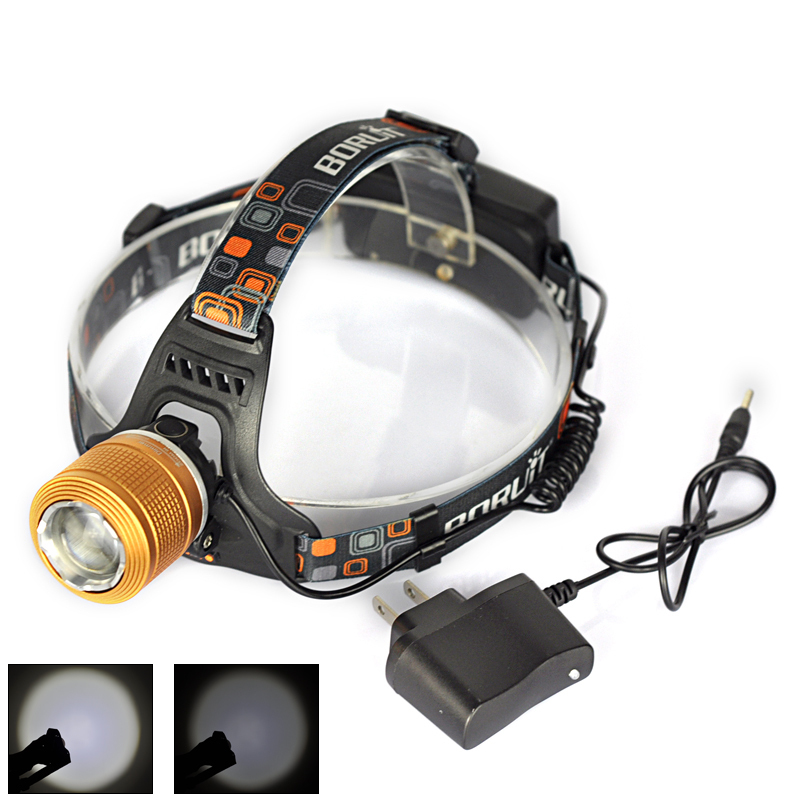 High Quality 3 Mode Cree XML T6 2000LM zoomable and rechargeable Power Led Headlamp Outdoor Fishing Head Lamp,Headlight(EHL0009)<br><br>Aliexpress