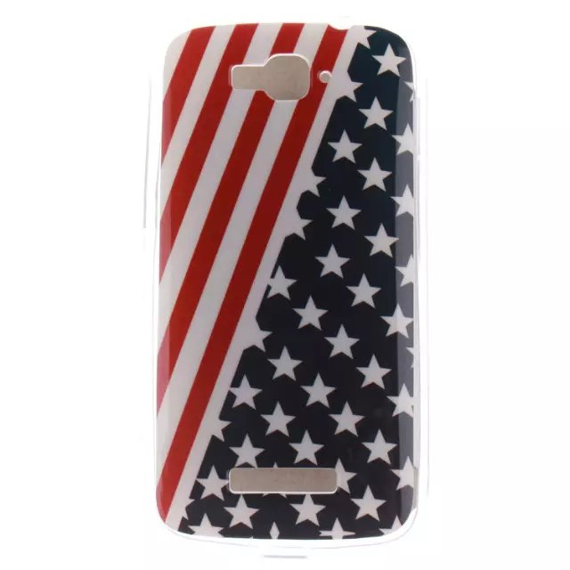For Alcatel One Touch Pop C7 For BQ E5 Star Mandala Vans Soft Slim TPU case, IMD Anti Fade Pictorial cover case for alcatel c7(China (Mainland))