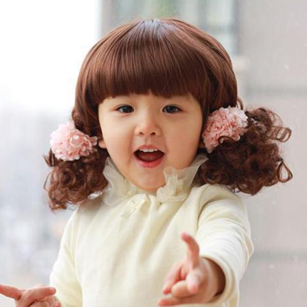 Cute Baby Curly Hair Short Curly Hair