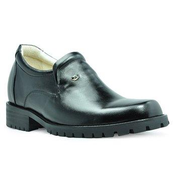 9802 Genuine Leather Men's Heel Comfortable Elevator Shoes