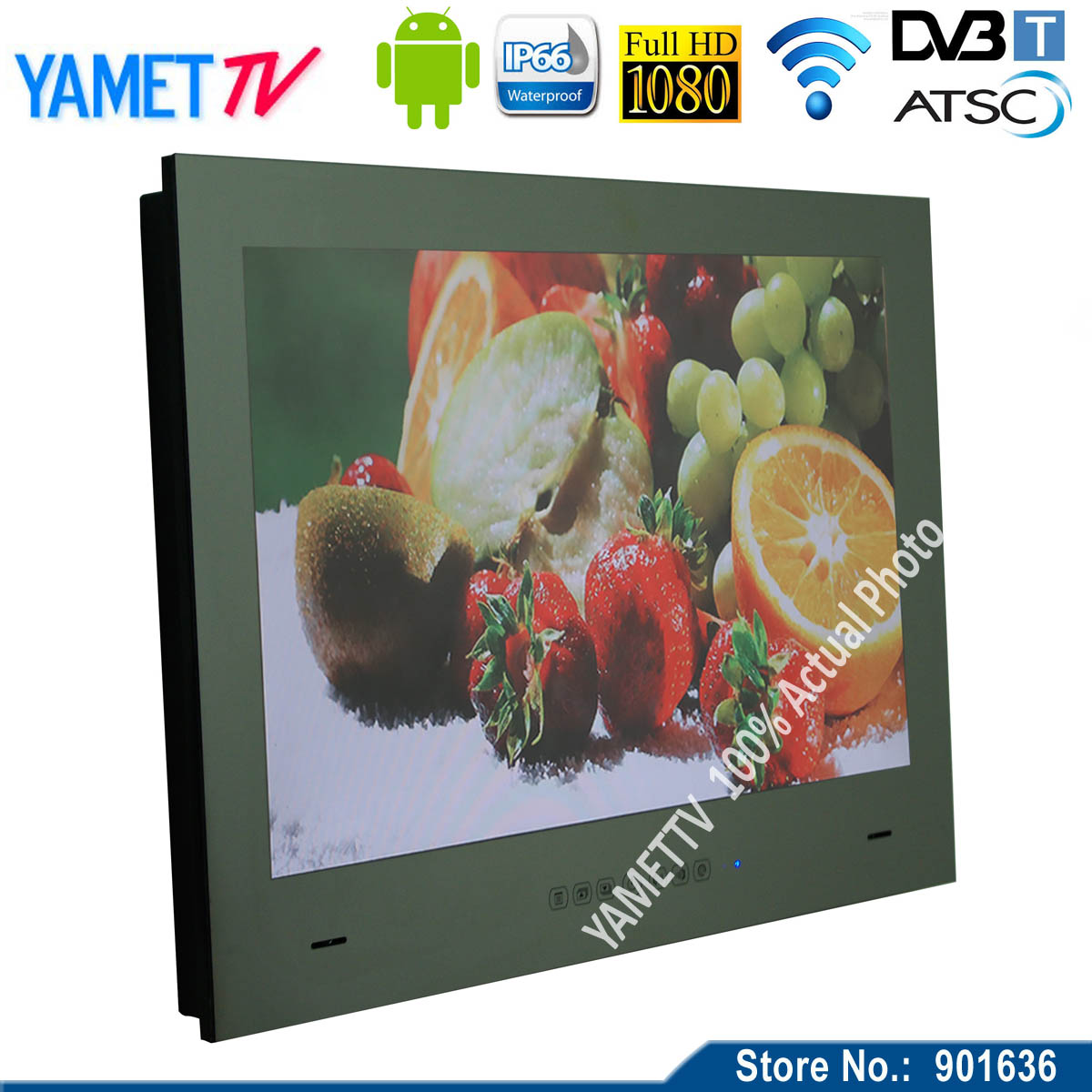 Телевизор Yamet 27 WiFi Full HD 1080P Android 4.2 /tv YMT-B27JM телевизор 28 дюймов full hd