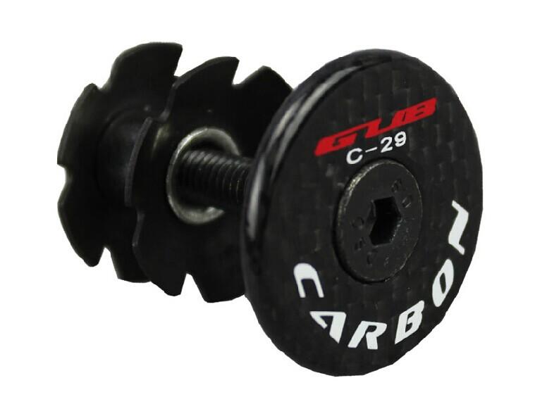 ultralight 23g CNC full Carbon Fiber bicycle handlebar Stem Headset Top Cap Cover bicycle parts Road
