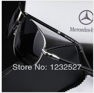 The new Mercedes-Benz polarized sunglasses male driver drove Fashionable sunglasses glasses cool gentleman driving mirror(China (Mainland))