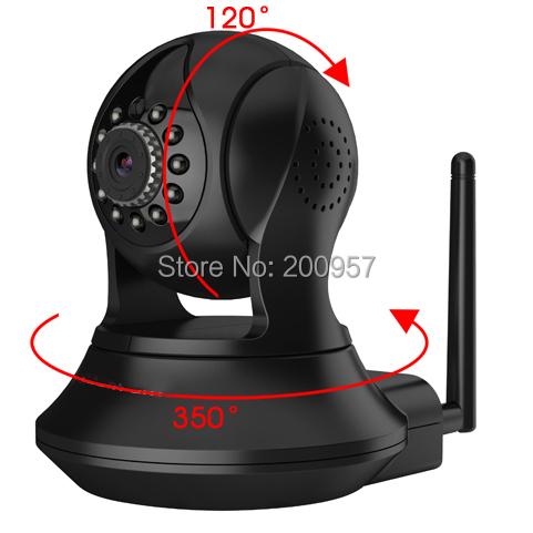2014 New HD 1080P Indoor Wired/Wireless Pan/Tilt Network IP Camera, IR-Cut Night-vision Wifi Camera
