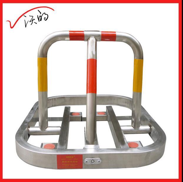 De Acero inoxidable manual de servicio Pesado estacionamiento bolardo bloqueo barrera para aparcamiento de reserva(China (Mainland))