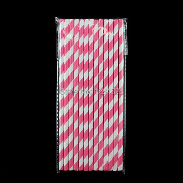 1000pcs/lot party supplies environmental paper Straws stripe color green paper Straw small wholesale 14 colors free shipping(China (Mainland))