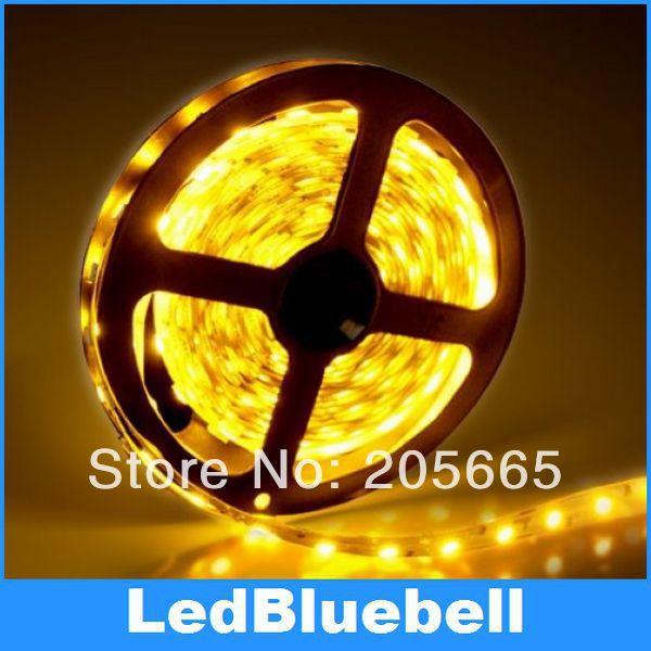 LED Strip light 5050 SMD 300LEDS 5m/ Roll 12V Input Waterproof Light Flexible home decoration lighting - SHGD Bluebell Lighting Store store
