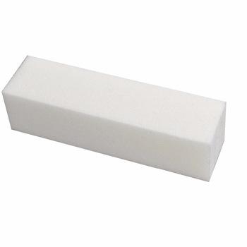 YZWLE Hot Sale 10Pcs/Lot White Nail Art Buffer File Block Pedicure Nails Buffing Sanding Polish
