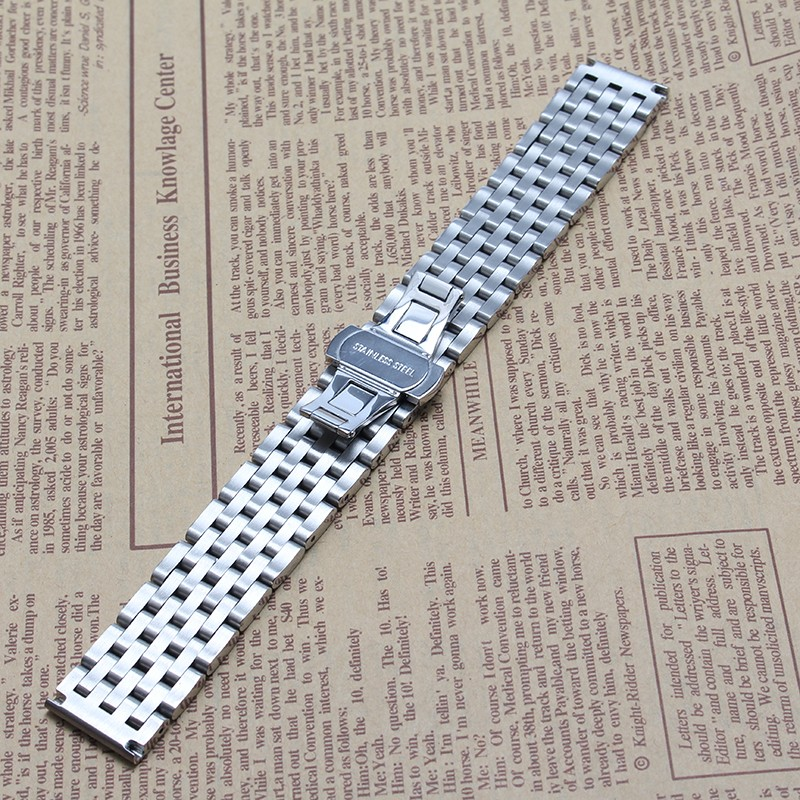 New arrival Fashion Watchband solid LINKS 20MM 22MM Watch straps bracelet for brand  smart-watch mens accessories high quality