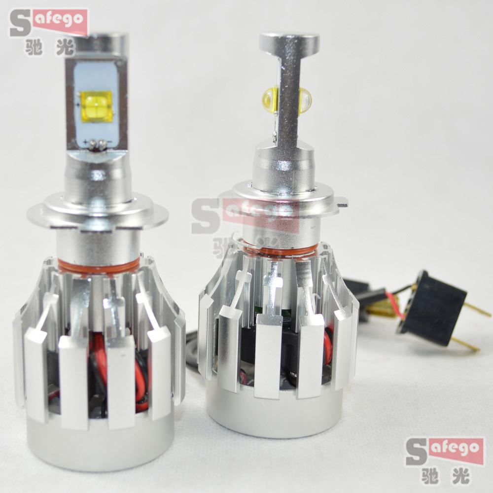 1set Super Bright H7 Led CREE MKR 7070 Kit Headlights 50w 6000lm Led Lamps H7 Blubs Lamps Lights Led H7 Headlight On Sale(China (Mainland))