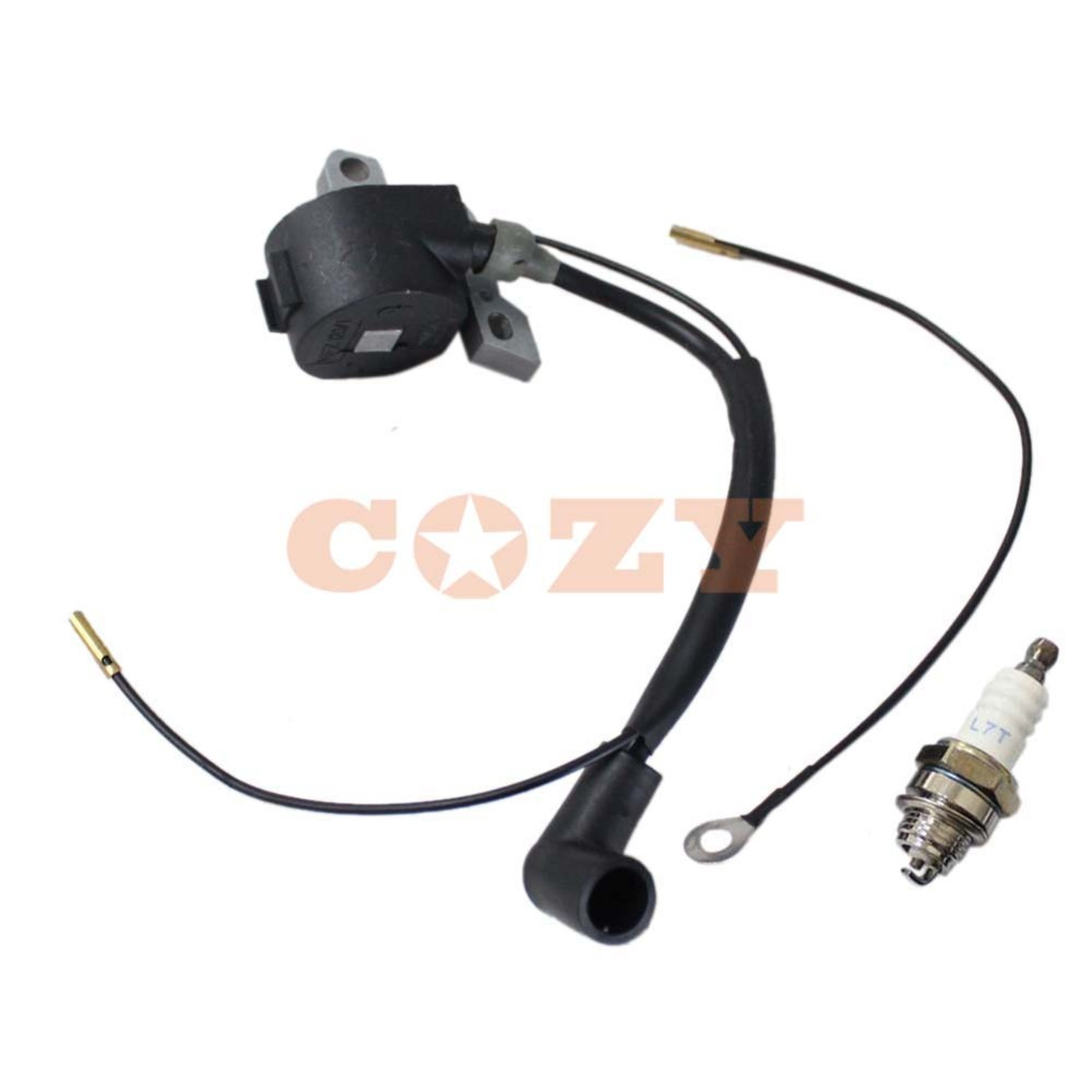 Ignition Coil & Spark plug For Stihl 024 026 028 029 MS240 MS260 MS290 ...
