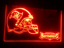 b-233 Tampa Bay Buccaneers Helmet Bar LED Neon Light Signs(China (Mainland))