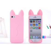 Buy Cat Cute Ears Phone Cases Iphone 5 5s 6 6s 6Plus 7 7s 7plus Soft Clear TPU Silicon Ultra-Thin Phone Cover Case Phone Shell for $1.29 in AliExpress store