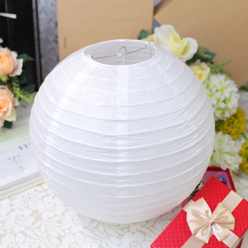 2 (15cm-40cm) Chinese paper lantern lamp wedding decoration white colors party - Yiwu Zilue Trading Co.,Ltd Store store