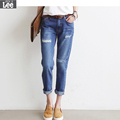 Boyfriend Jeans For Women Promotion Cotton Light Fly Mid 2016 Autumn New Lady Was Thin Trousers