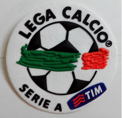 Silicone Serie A Lega Calcio Serie A TIM 2004-2011 soccer patch Serie A Rubber soccer Badges Free Shipping(China (Mainland))