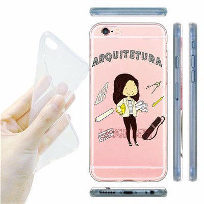 Attractive Career Women Phone Case Coque for iPhone 6S 6 6Plus 5S SE Soft Silicone Dentists Teachers Doctors Judge Back Cover